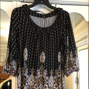Tunic top, nearly new condition